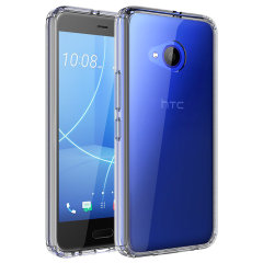 Custom moulded for the HTC U11 Life. This crystal clear Olixar ExoShield tough case provides a slim fitting stylish design and reinforced corner shock protection against damage, keeping your device looking great at all times.