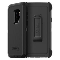 OtterBox Defender Screenless Samsung Galaxy S9 Plus Case - Black