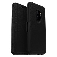 OtterBox Strada Samsung Galaxy S9 Plus Case - Black