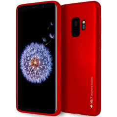 Mercury Goospery iJelly Samsung Galaxy S9 Gel Case - Red
