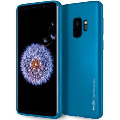 Mercury Goospery iJelly Samsung Galaxy S9 Gel Case - Blue
