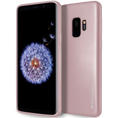 Mercury Goospery iJelly Samsung Galaxy S9 Gel Case - Rose Gold