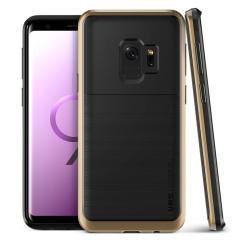 VRS Design High Pro Shield Samsung Galaxy S9 Case - Goud