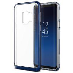 VRS Design Crystal Bumper Samsung Galaxy S9 Case - Diepzee Blauw