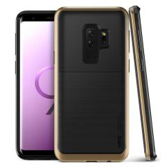 VRS Design High Pro Shield Samsung Galaxy S9 Plus Case - Goud
