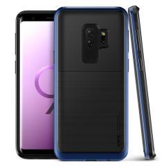 VRS Design High Pro Shield Samsung Galaxy S9 Plus Case - Diepzee blauw