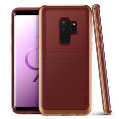 VRS Design High Pro Shield Galaxy S9 Plus Case - Rood Blush Goud