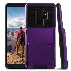 VRS Design Damda Folder Samsung Galaxy S9 Plus Case - Ultra Violet