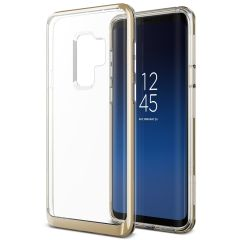VRS Design Crystal Bumper Samsung Galaxy S9 Plus Case - Goud