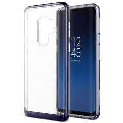 VRS Design Crystal Bumper Samsung Galaxy S9 Plus Case - Ultra Violet