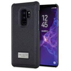 Ted Baker Hider Samsung Galaxy S9 Plus Inlay Hard Shell Case - Black