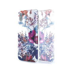 Karen Millen iPhone X Floral TPU Shell Case - Clear