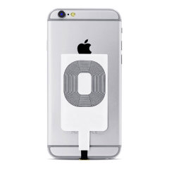 Enable wireless charging for your iPhone 7 /7 Plus / 6S / 6S Plus / 6 / 6 Plus / 5 / 5S / 5C / SE without replacing your back cover or case with this Qi Wireless Charging Adapter from Choetech. Simple plug into your iPhone and instantly charge wirelessly.