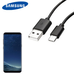 Perfect for charging your Samsung Galaxy S8 and syncing files, this official 1.5m retail packed Samsung USB-C to USB-A cable provides blistering charge and transfer speeds and also supports adaptive fast charging.