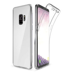 At last, a Samsung Galaxy S9 case that offers all around front, back and sides protection and still allows full use of the phone. The Olixar FlexiCover in crystal clear is the most functional and protective gel case yet.