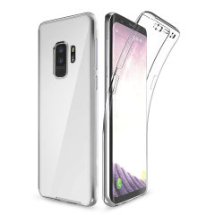 Olixar FlexiCover Complete Protection Galaxy S9 Plus Gel Hülle in Klar