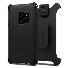Seidio Dilex Combo Samsung Galaxy S9 Holster Case - Schwarz