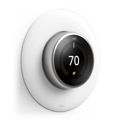 Elago Nest Thermostat Wall Plate - White