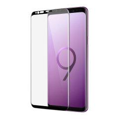 Dieser sehr dünne, vollständig abgedeckt Hartglas-Bildschirmschutz für das Samsung Galaxy S9 Plus von Patchworks bietet Härte, hohe Sichtbarkeit und Sensibilität in nur einem Paket. Enthält eine vollständige Kanten zu Kanten Schutz und eine Ölresistente Beschichtung.