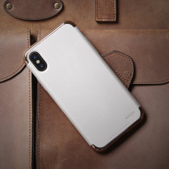 Elago Empire iPhone X Case - Rose Gold / White