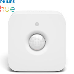 Add to your existing Philips Hue Hub with this official Philips Hue wireless motion sensor. Trigger lights to come on when motion is detected, place almost anywhere with the magnet or screw attachment while also including a temperature sensor.