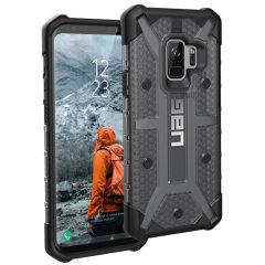 UAG Plasma Samsung Galaxy S9 Protective Case - Ash / Black