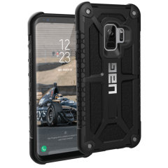 UAG Monarch Premium Samsung Galaxy S9 Protective Case - Black