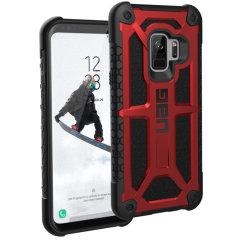 UAG Monarch Premium Samsung Galaxy S9 Protective Case - Crimson
