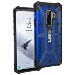 UAG Plasma Samsung Galaxy S9 Plus Protective Case - Cobalt / Black