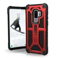 UAG Monarch Premium Samsung Galaxy S9 Plus Protective Case - Crimson