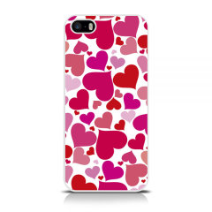 Call Candy iPhone 5 / 5S / SE Hard Case - Love Hearts