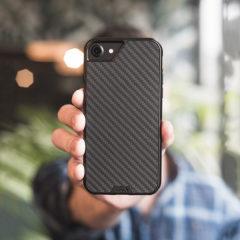 Mous grenzenloses 2.0 iPhone 8 / 7 /6S Aramid harte Hülle - Kohlefaser