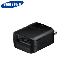 Convierte tu puerto USB-C en una entrada USB 3.0 de tamaño completo y usa tarjetas de memoria, teclados y más en tu Samsung Galaxy S9 Plus con este adaptador oficial de Samsung. También es compatible con los protocolos de carga rápida de Samsung.