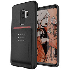 Ghostek Exec 2 Samsung Galaxy S9 Plus Wallet Case - Black