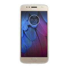 Custom moulded for the Motorola Moto G5S this clear gel case by KSIX provides slim fitting and durable protection against damage.