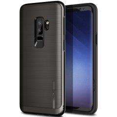 Obliq Slim Meta Samsung Galaxy S9 Plus Deksel - Sort Titanium
