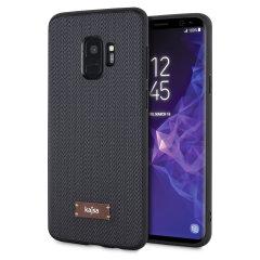 Kajsa Lite Tweed Pattern Samsung Galaxy S9 Skal - Mörkgrå