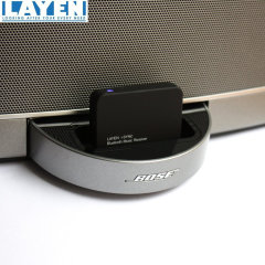 Connect any Bluetooth device to the Layern i-SYNC to stream music wirelessly to most Apple 30 pin docks. Ideal for Android and Apple smartphones as well as PCs, laptops and tablets.