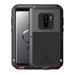 Protect your Samsung Galaxy S9 Plus with one of the toughest and most protective cases on the market, ideal for helping to prevent damage from water and dust - this is the black Love Mei Powerful Protective Case.