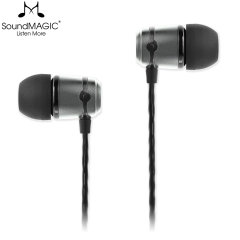 Enjoy your music in crystal clarity with a strikingly balanced sound with the SoundMAGIC E50 In-Ear Headphones in Gunmetal. Built to last with its 2-part aluminium earphone construction, superior bass and tangle-free cable.