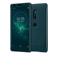 Original Sony Xperia XZ2 Style Tasche Touch Case in Grün