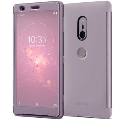 Official Sony Xperia XZ2 Style Cover Touch Case - Pink