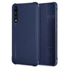 Official Huawei P20 Pro Smart View Flip Case - Blue