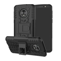 Protect your Motorola Moto G6 Plus from bumps and scrapes with this ArmourDillo case. Comprised of an inner TPU case and an outer impact-resistant exoskeleton, the Armourdillo not only offers sturdy and robust protection, but also a sleek modern styling.