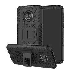 Protégez votre Motorola Moto G6 Plus avec cette coque ArmourDillo, composée d'un boîtier intérieur en TPU et d'un exosquelette externe résistant aux impacts.