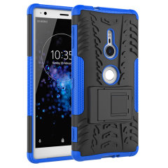 ArmourDillo Hybrid Sony Xperia XZ2 Hülle in Blau