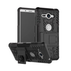 ArmourDillo Hybrid Sony Xperia XZ2 Compact Hülle in Schwarz