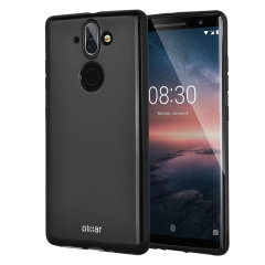 Custom moulded for the Nokia 8 Sirocco, this solid black Olixar FlexiShield case provides a slim fitting stylish design and durable protection against damage, keeping your device looking great at all times.