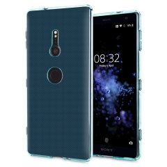 Olixar FlexiShield Sony Xperia XZ2 Gel Hülle in Blau