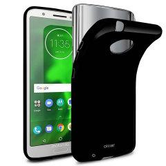 Olixar FlexiShield Motorola Moto G6 Gel Case - Solid Black